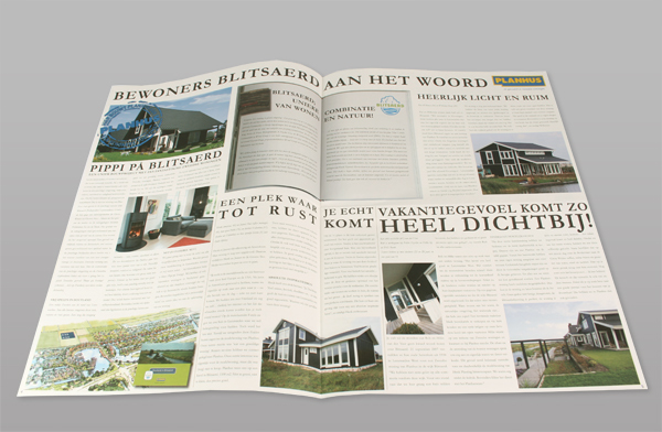 Krant reclame