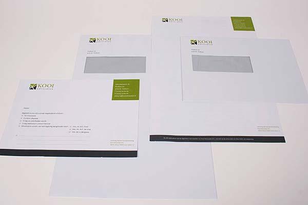 Enveloppen-menu
